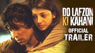 Do Lafzon Ki Kahani Official Trailer 2 HD Randeep Hooda Kajal Aggarwal