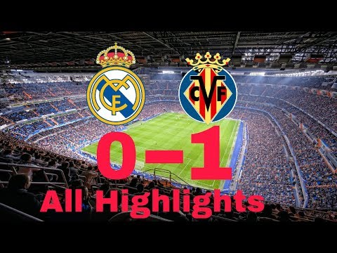 Real Madrid vs Villarreal 0-1 Highlights & All Moments HD 13/3/2018
