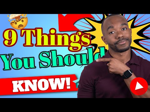 Things YouTubers Don't Say About Starting A Channel With No Experience I 9 Things To Know!