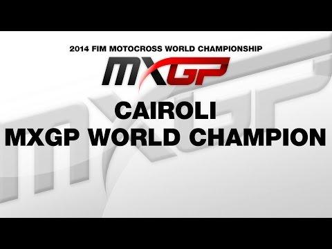 Vídeos de 'Cairoli, Campeón del Mundo de Motocross MXGP 2014'