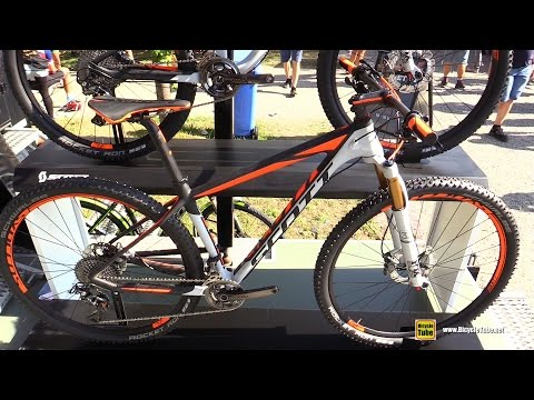 2016 Scott 900 Premium Moutain Bike - Walkaround - 2015 Eurobike (видео)