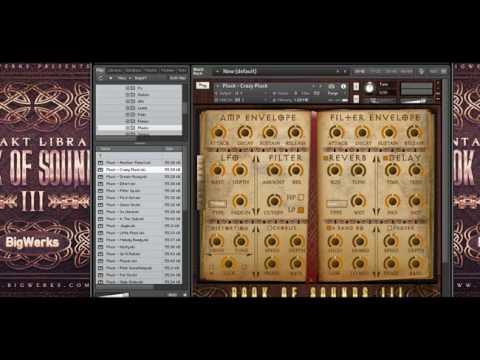 Book Of Sounds III | Beat Demo | Sound Review | Kontakt vst