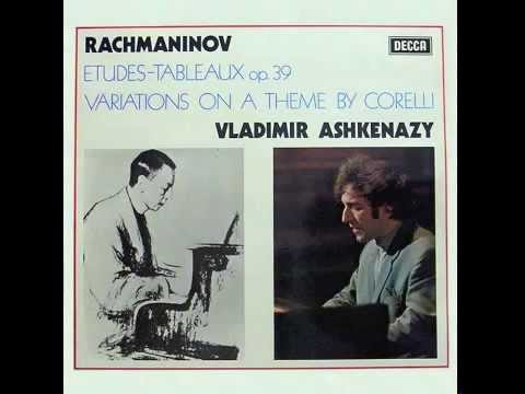 etude - Rachmaninoff's Etudes-Tableaux recorded by Vladimir Ashkenazy in February 1973.
