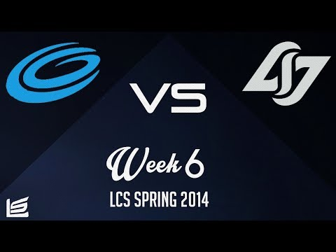 NA LCS 2014 Spring W6D2: Team Coast vs Counter Logic Gaming Highlights
