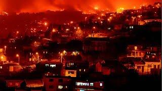 Megaincendio en Valparaíso