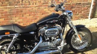 10. 1000 mile Harley Davidson sportster 1200 custom review