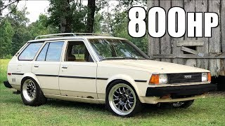800HP Corolla Station Wagon Encounters Police (Best Excuse Ever) - Barn Find For $100 by  That Racing Channel