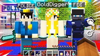 I Brought GOLD DIGGER To The POLICE SERVER... You Won't Believe What SHE DID...