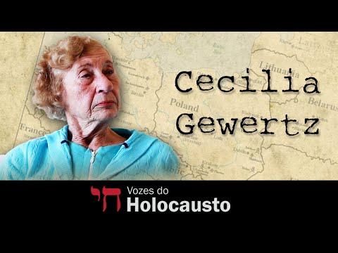 Emocionante depoimento de Cecilia Gewertz – Vozes do Holocausto
