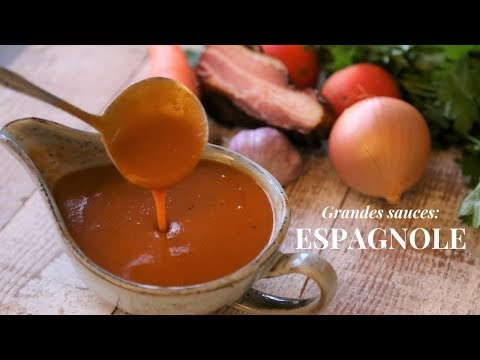 Espagnole Sauce: History, Origin And How To Make It Step By Step