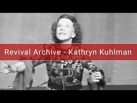 Kathryn Kuhlman | Knowing The Holy Spirit | Oklahoma - 1972