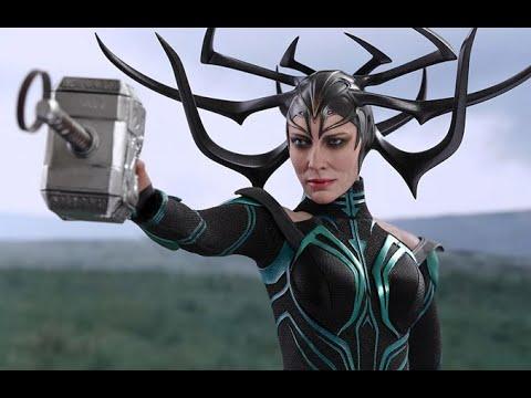 Thor vs Hela - First Fight Scene Hindi | Thor Ragnarok (2017)  Movie CLIP HD
