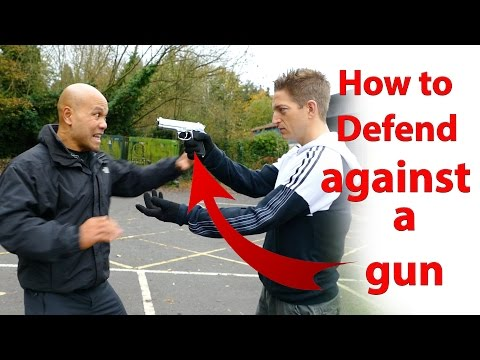 how to defend against a gun