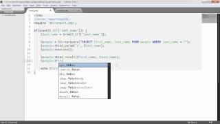 PHP And MySQL With MySQLi: Binding (Part 7/9)
