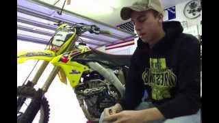 10. How to change the oil on a RMZ 450 2013 pt. 1