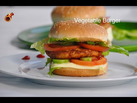 Easy Vegetable Burger || വെജിറ്റബിൾ ബർഗർ || Tasty Veg Burger|| Bachelor's Dish ||ep:465