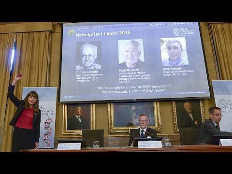 Νόμπελ Χημείας σε τρεις επιστήμονες για την αποκατάσταση βλαβών στο DNA