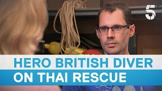 Video Thai cave rescue: British diver lost rope guide for four minutes during mission - 5 News MP3, 3GP, MP4, WEBM, AVI, FLV Maret 2019