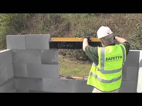 Installation of Box Lintel - H+H UK