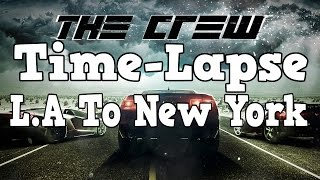 The Crew Closed Beta Time-Lapse From Los Angeles To New York