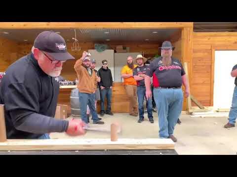 Соревнование по резке и рубке ножом