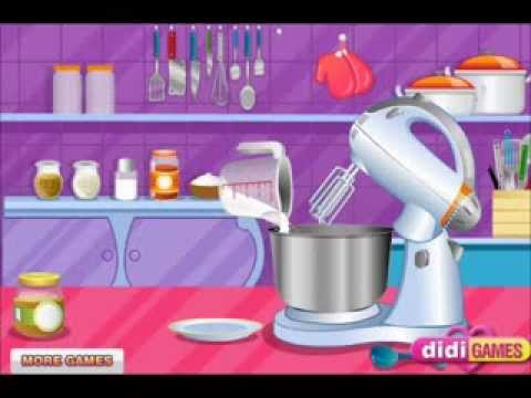 Little Cookies Maker Video For Little Girls-Cooking Games-Girls Games