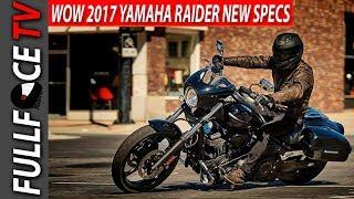 9. 2017 Yamaha Raider Review Specs and Price