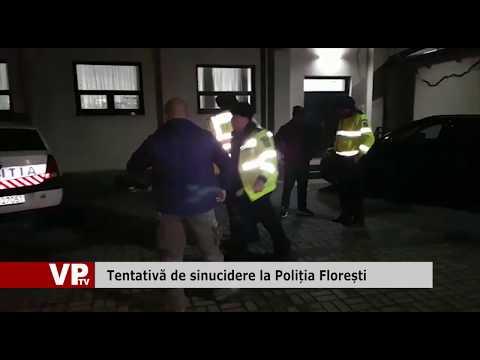 Tentativă de sinucidere la Poliția Florești