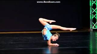 Mackenzie Ziegler- Dancing Barefoot (forgot her solo)