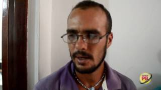 Acusado de homicídio no DF é preso em Sousa, confessa o crime
