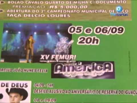 Reserva do Iguaçu se prepara para comemorar o 15º aniversário.wmv
