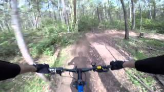 Daisy Hill Australia  city pictures gallery : MTB DAISY HILL TRACK 1 FROM THE 5 WAYS