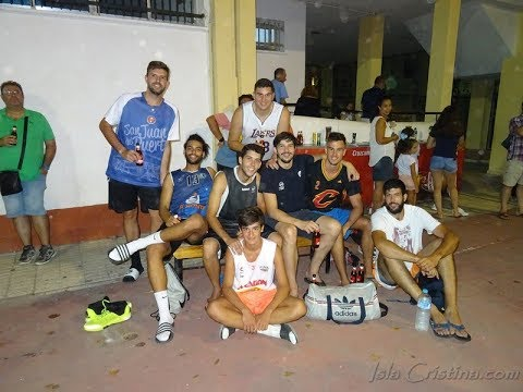 Resumen Torneo Baloncesto de Isla Cristina. Que rico hijo & Negro Team