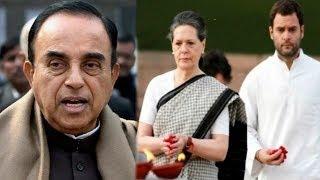 The Newshour  Debate: Subramanian Swamy Vs Gandhis - Full Debate (26th June 2014)