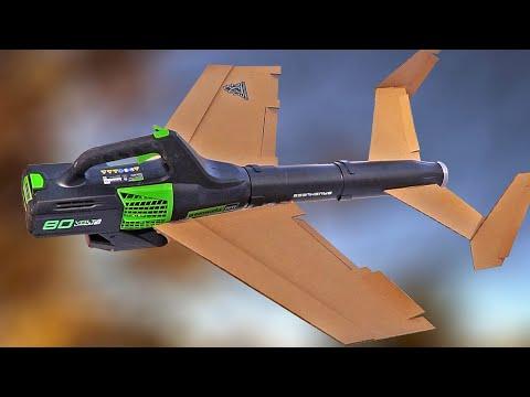 FLYING Leaf Blower RC airplane Mk2