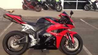 9. USED INVENTORY @ Frontline Eurosports: 2009 Honda CBR600RR ABS Red/Blk