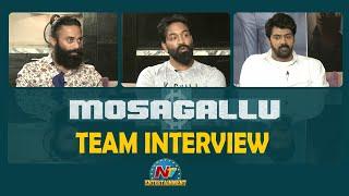 Mosagallu Movie Team Interview   Vishnu Manchu   Navdeep   Naveen Chandra