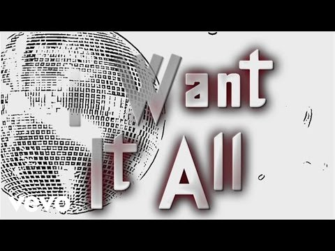 I Want It All (Lyric Video)