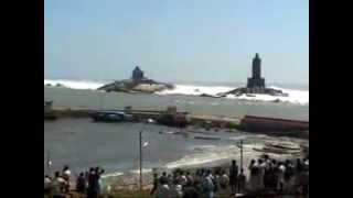 Kanyakumari India  city photos gallery : Tsunami In India Kanyakumari Dangerous