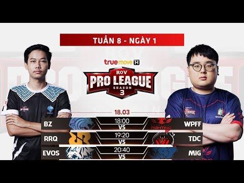 BZ vs WPF | TDC vs RRQ | EVOS vs MIG - Ngày 1 Tuần 8 - Giải đấu RPL Thái Lan Mùa 3 - Thời lượng: 4:35:20.