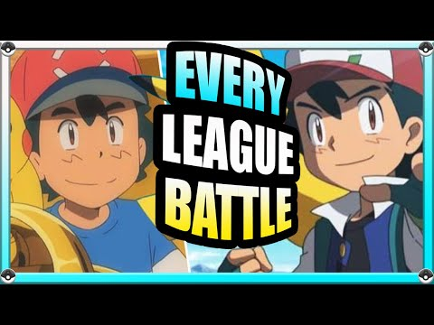 All of Ash's Pokemon Leagues (History of Ash Ketchum During his League Battles)