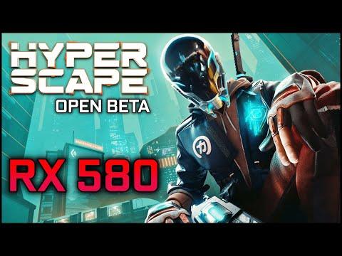 Hyper Scape Open Beta   RX 580 + RYZEN 5 3600   1080p
