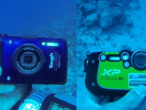 Always On - Rugged underwater camera showdown