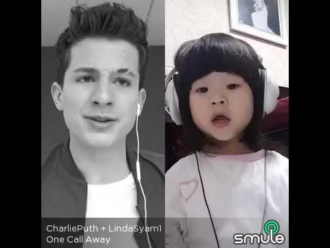 Charlie Puth - One Call Away Smule