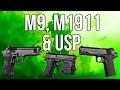 MWR In Depth: M9, M1911, n USP