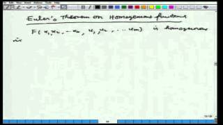 Mod-01 Lec-02 Calculus Of Variations And Integral Equations