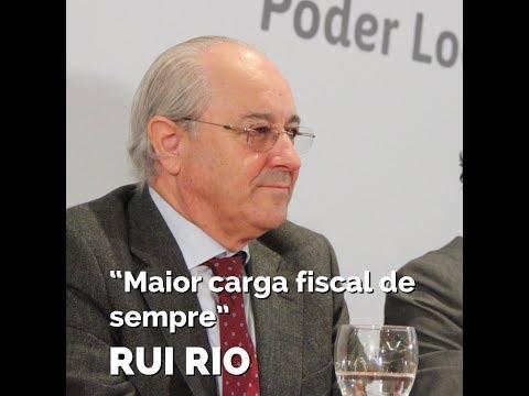 """Rui Rio: """"Maior carga fiscal de sempre"""""""