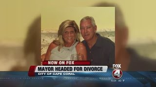 Group pushing Cape Coral Mayor recall petition amid divorce.