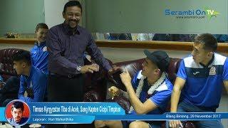 Timnas Kyrgyzstan Tiba di Aceh, Sang Kapten Cicipi Timphan