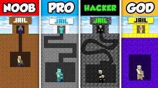 Minecraft NOOB vs. PRO vs. HACKER vs GOD :  MAZE TO FAMILY CHALLENGE in Minecraft! (Animation)